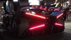 Bugatti Bolide: le luci posteriori