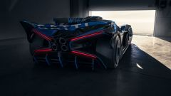 Bugatti Bolide nuove foto: il retro
