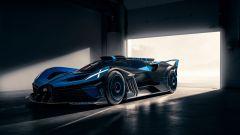 Bugatti Bolide nuove foto: vista di lato