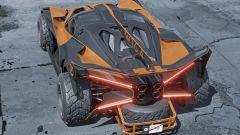 Bugatti Bolide Safari by Yasid Design dall'alto