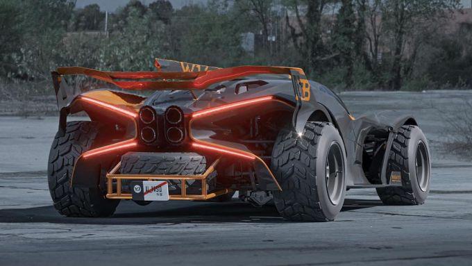 Bugatti Bolide Safari by Yasid Design