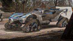 Bugatti Bolide Safari, il mostruoso rendering di Yasid Design