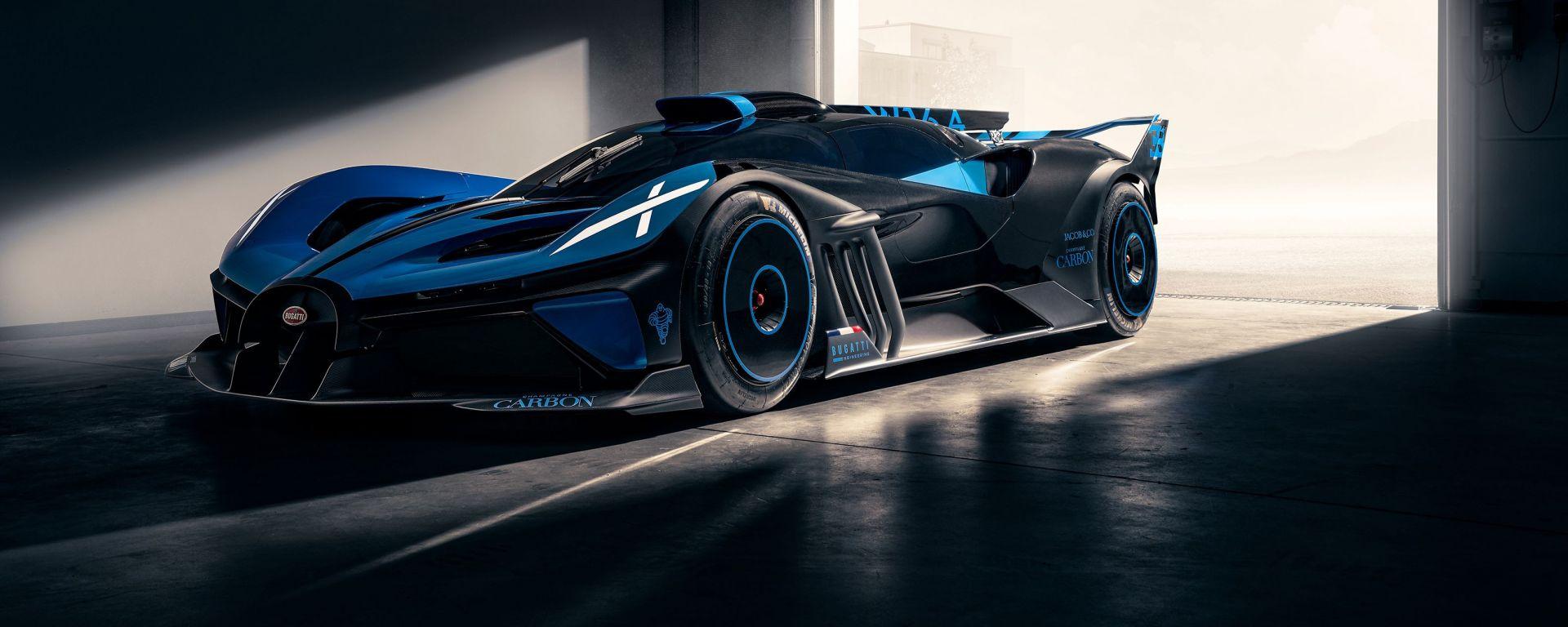 Bugatti Bolide: un video ne svela i segreti