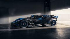 Bugatti Bolide: visuale laterale