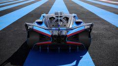 Bugatti Bolide: visuale posteriore