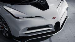 Bugatti Centodieci, dettaglio del frontale dall'alto