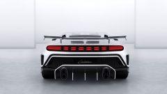 Bugatti Centodieci: il posteriore