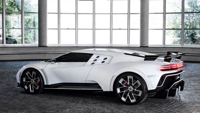 Bugatti Centodieci: prenotata anche da Cristiano Ronaldo