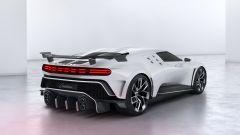 Bugatti Centodieci: vista 3/4 posteriore