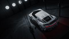 Bugatti Centodieci, vista posteriore dall'alto