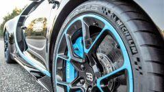Bugatti Chiron: dettaglio della gomma