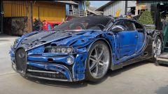Bugatti Chiron, Ferrari 250 GTOe non solo... fatte di rottami