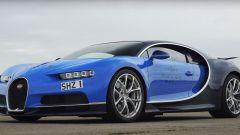 Bugatti Chiron frontale