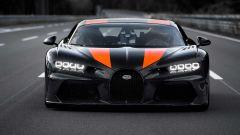 Bugatti Chiron: il frontale