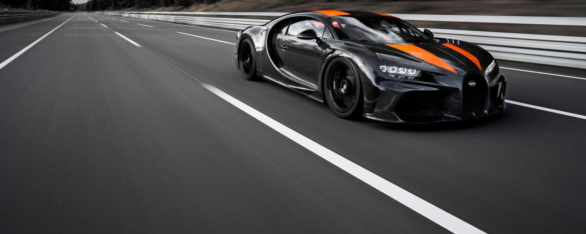 Bugatti Chiron: il record a Ehra Lessien