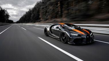Bugatti Chiron: il record di velocità a Ehra Lessien
