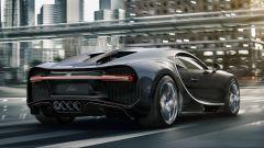 Bugatti Chiron Noire: posteriore