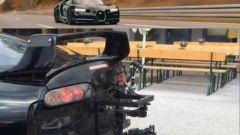 Bugatti Chiron: non è stata una Toyota Supra ad effettuare le riprese