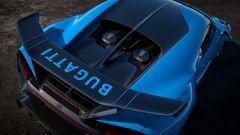 Bugatti Chiron Pur Sport: dettaglio dello spoiler