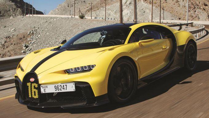 Bugatti Chiron Pur Sport: non solo velocità massima, anche agilità