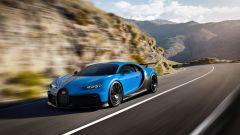 Bugatti Chiron Pur Sport: passaggio