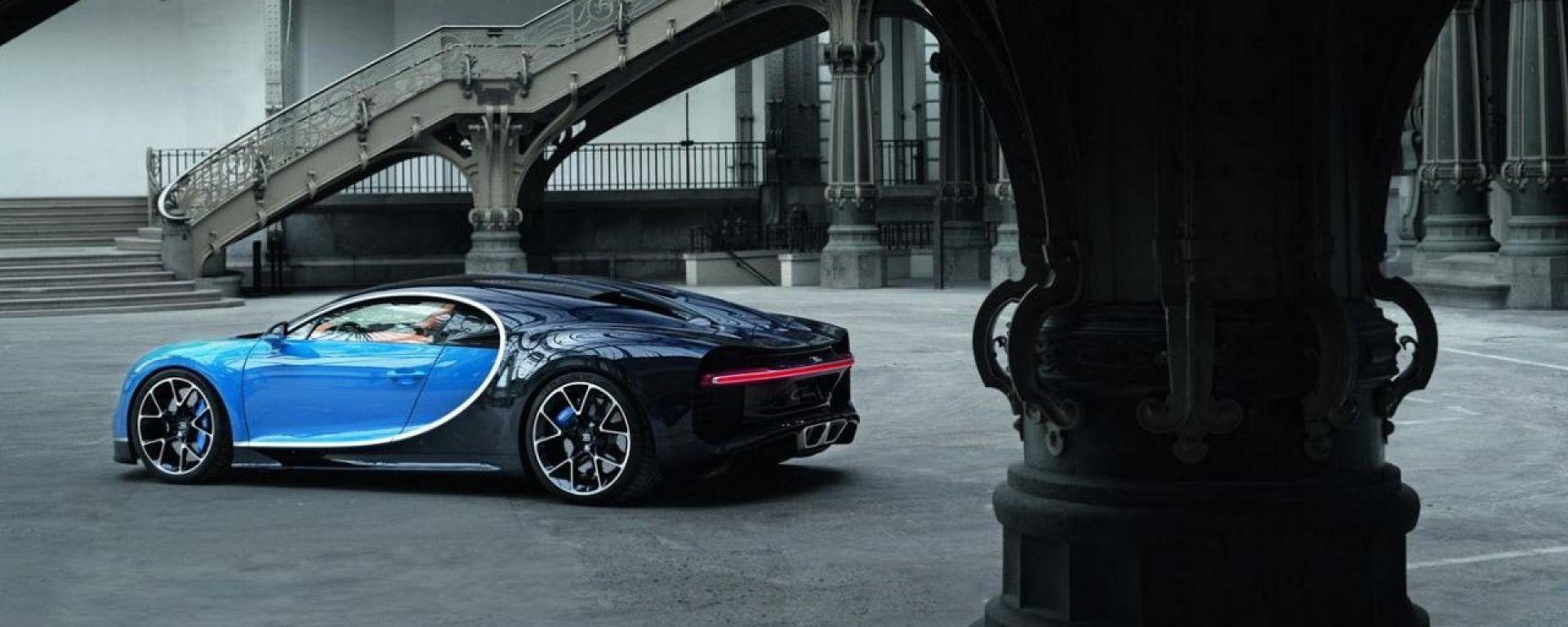 Addio Veyron, benvenuta Bugatti Chiron