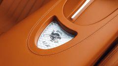 Bugatti Chiron Sport Les Legendes du Ciel: particolare degli interni
