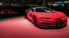 Bugatti Chiron Sport, live Salone di Ginevra 2018