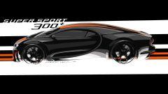 Bugatti Chiron Super Sport 300+, l'auto dei record