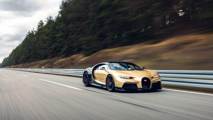 Bugatti Chiron Super Sport a Ehra-Lessien