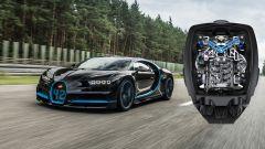 Bugatti Chiron Tourbillon: orologio da 320mila euro