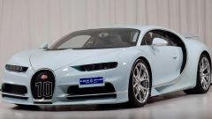 Bugatti Chiron Vainqueur de Coeur: il frontale