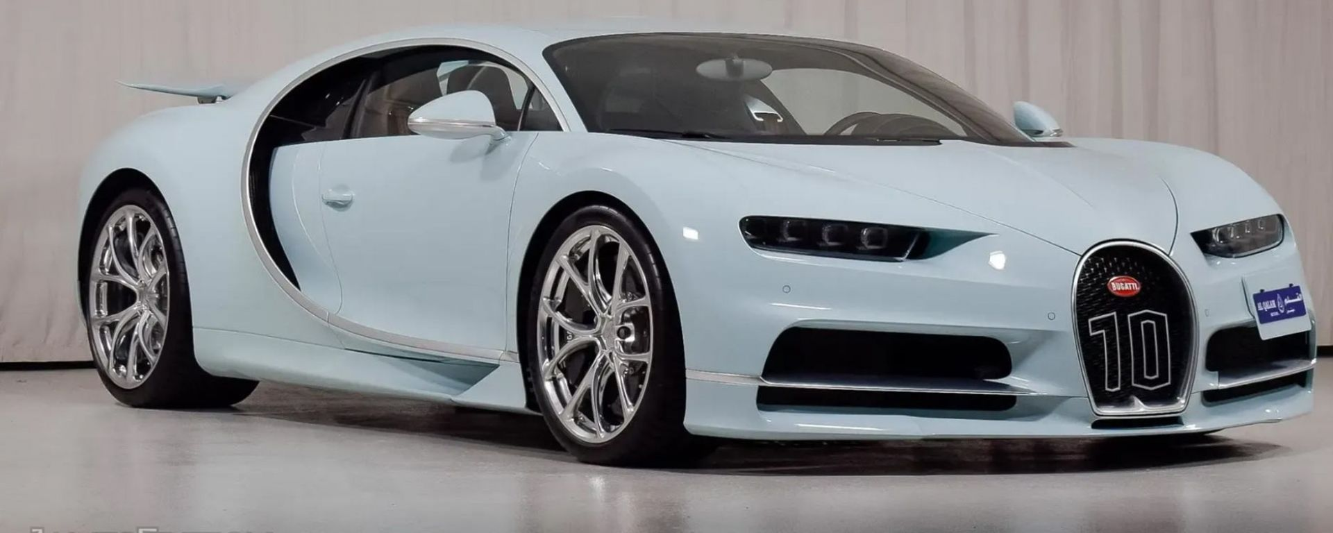 Bugatti Chiron Vainqueur de Coeur: vista 3/4 anteriore