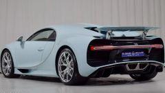 Bugatti Chiron Vainqueur de Coeur: vista 3/4 posteriore