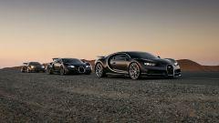 Bugatti: Chiron, Veyron ed EB110