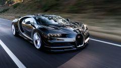 Bugatti Chiron: via libera al sistema ibrido per aumentare la potenza - Immagine: 1