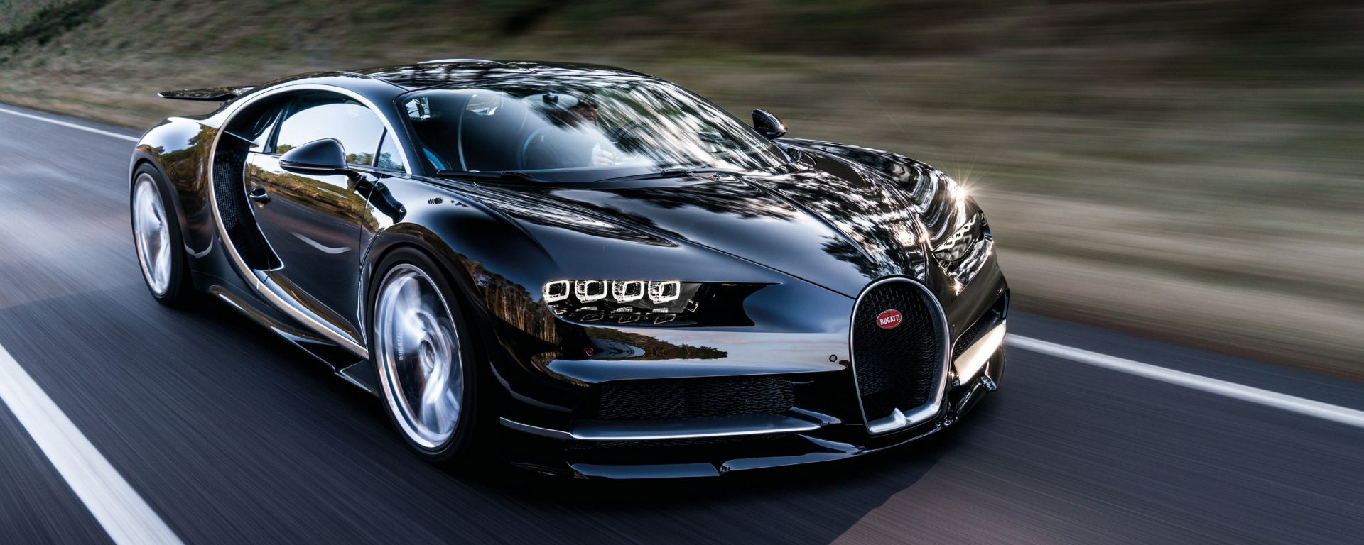 Bugatti Chiron: via libera al sistema ibrido per aumentare la potenza