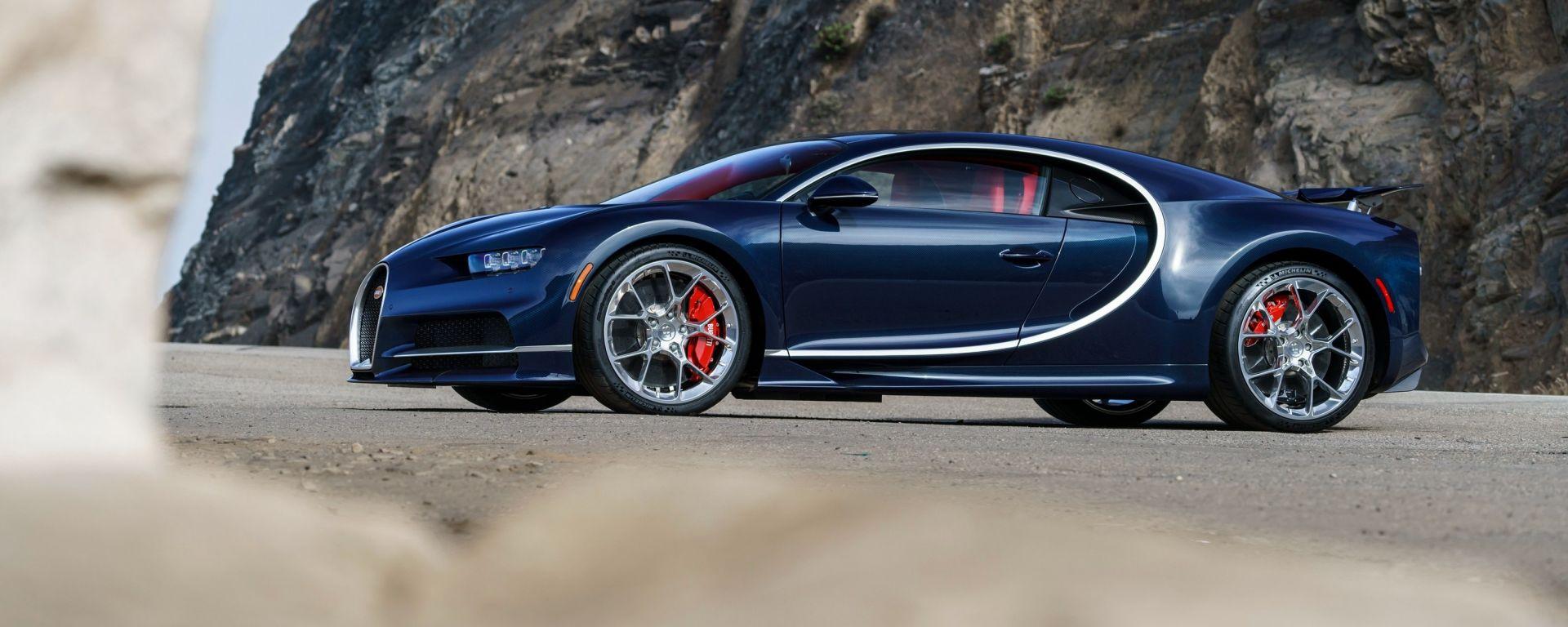 Bugatti chiron taglia il costo delle gomme e la velocit for Costo per costruire 3 box auto indipendenti