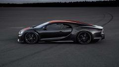 Bugatti Chiron: vista laterale