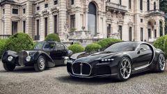 Bugatti Atlantic, Veyron Barchetta, Rembrand: le concept e poi...
