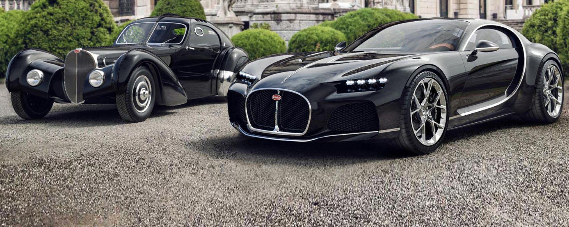 Bugatti concept copertina