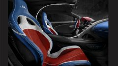Bugatti Divo: interni abbinati alla configurazione 4