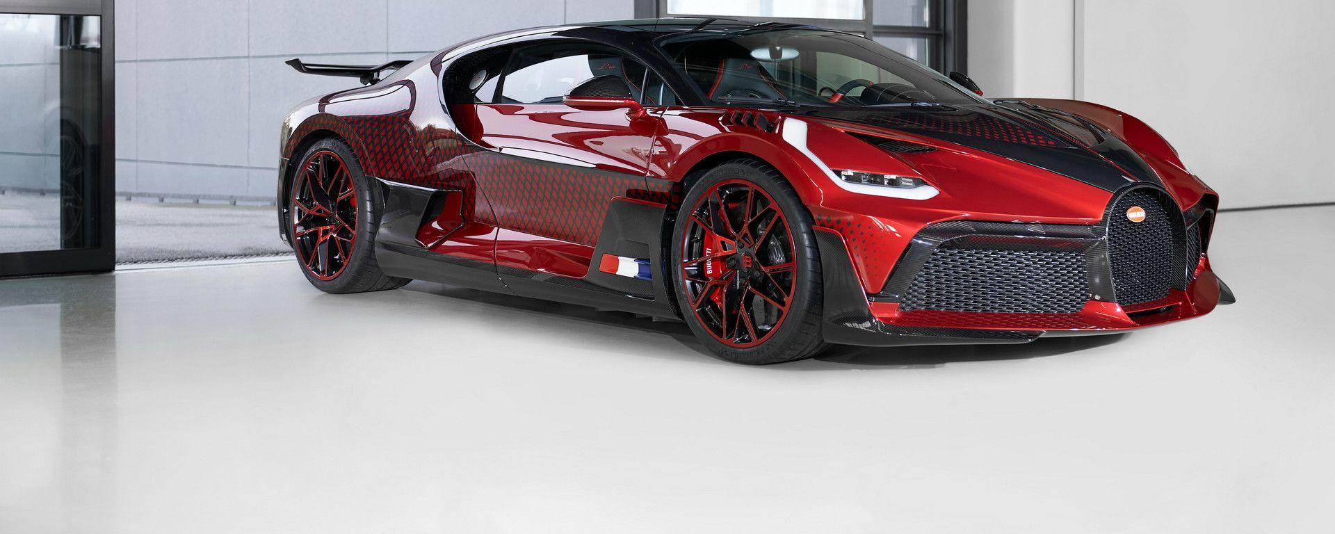 Bugatti Divo Lady Bug: la one-off con vernice super speciale