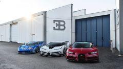 Bugatti EB 110 Super Sport, Bugatti Centodieci e Bugatti Chiron