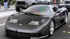 Bugatti EB110 SS con carbonio a vista: più unica che rara?