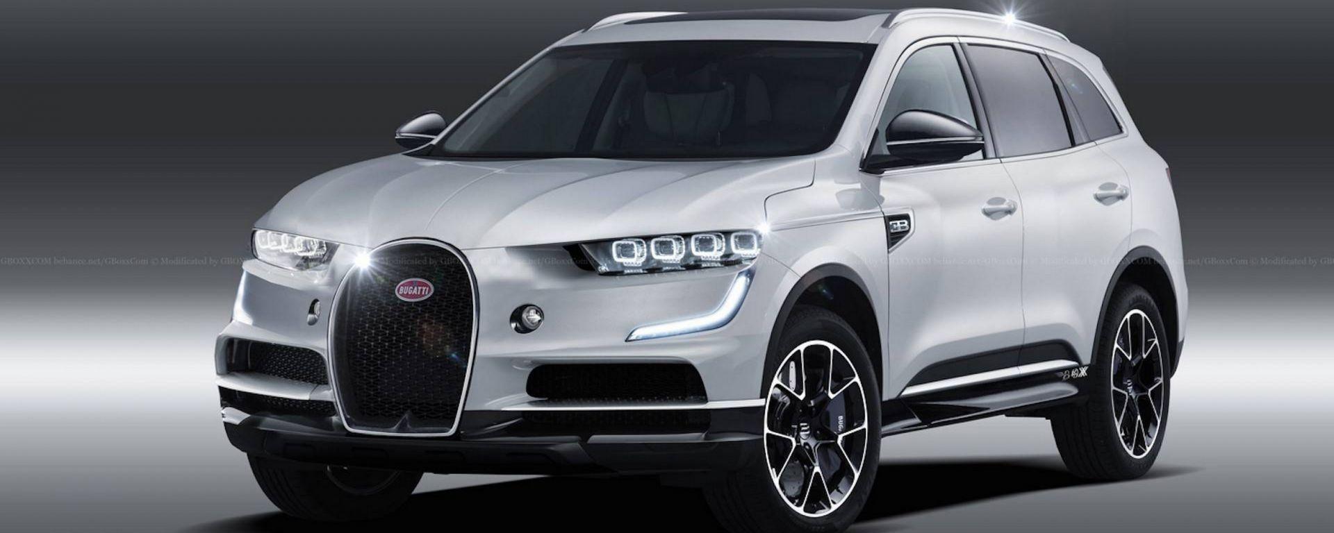 SUV Bugatti ibrido: molto più di un rumors