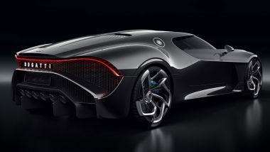 Bugatti La Voiture Noire: 65.000 ore di lavoro per costruirla