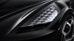 Bugatti La Voiture Noire: faro anteriore