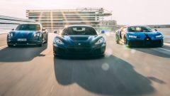 Bugatti-Rimac: accordo con Porsche per hypercar (anche) elettriche