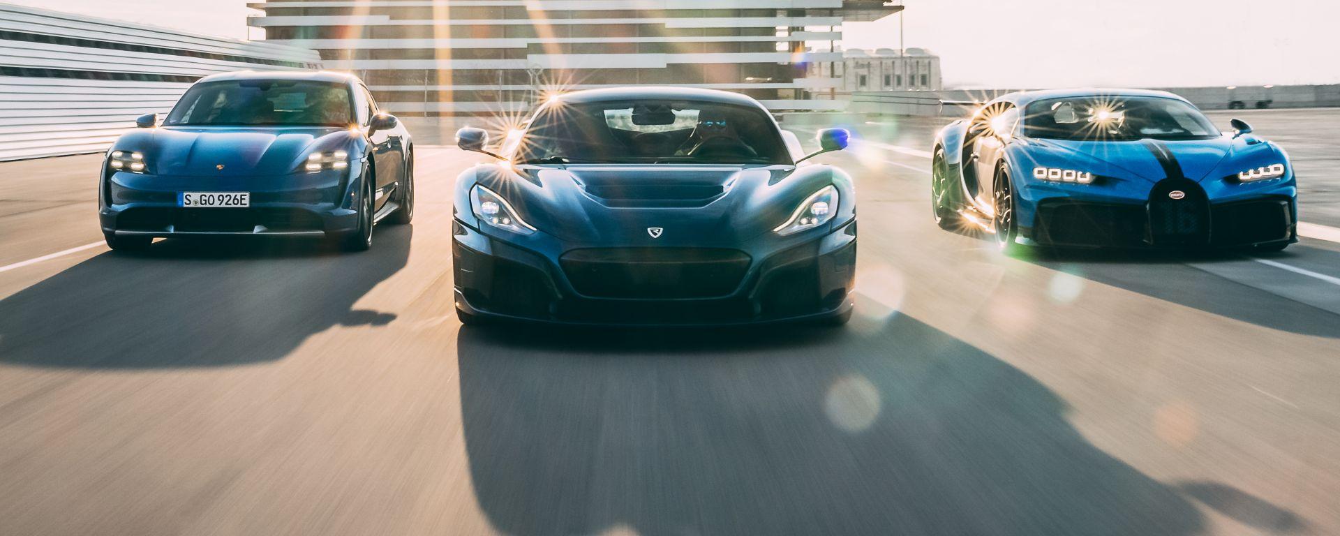 Bugatti-Rimac: nasce una nuova partnership